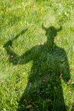 Viking shadow Stock Photos