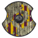 Viking shield Royalty Free Stock Images