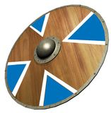 Viking Shield , 3D stock illustration