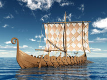 Viking Ship vector illustratie