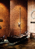Viking Ship Imagenes de archivo