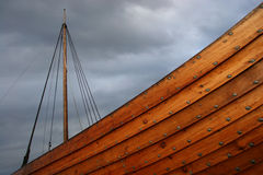 Viking ship Royalty Free Stock Photo