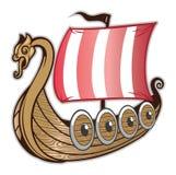 Viking Ship Fotografía de archivo