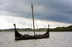 Viking Ship Stock Image