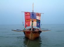 Viking Ship Imagen de archivo libre de regalías