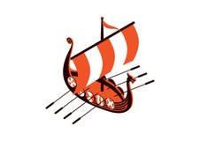 Viking Ship Image stock