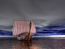 Viking Ship Royalty Free Stock Photos