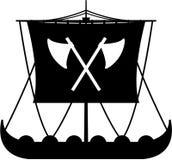 Viking Ship Royalty-vrije Stock Afbeelding