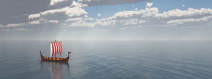 Viking Ship Fotografia Stock