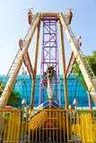 Viking ship in amusement park. At Bangkok Thailand Stock Images