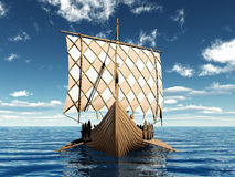 Viking Ship Royalty Free Stock Image