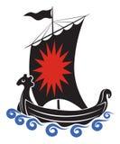 Viking ship Royalty Free Stock Images