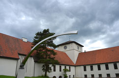Viking Ship Museum i Oslo Royaltyfri Foto