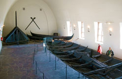Viking Ship Museum. Oslo. Norway Royalty Free Stock Images