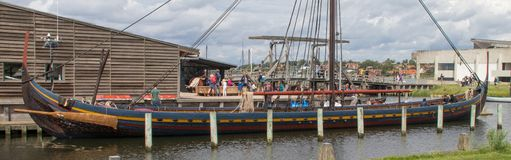 Viking Ship Museum in Roskilde stock foto