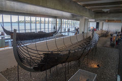 Viking ship Stock Images