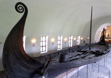 Viking Ship Museum van Oslo Stock Afbeelding