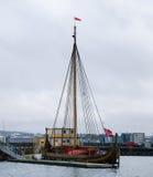 Viking ship replica Royalty Free Stock Photo