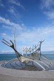 Viking Ship Sculpture Imagenes de archivo