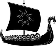 Viking ship Stock Photos