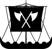 Viking Ship. Vector illustration of a Norse Viking Ship. An EPS file is also available vector illustration