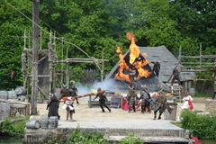 Viking Show Royalty Free Stock Images