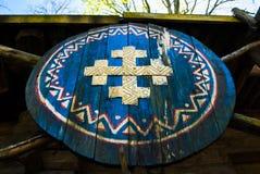 Viking sköld Royaltyfria Foton