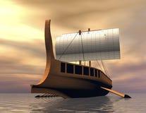 Viking statek Zdjęcie Stock