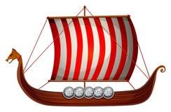 Viking statek Obrazy Royalty Free