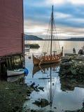Viking statek Fotografia Stock