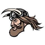 Viking-strijder in vectorformaat Stock Foto's