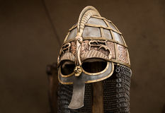 Viking-Sturzhelm Stockfoto
