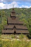 Viking stylu dom Zdjęcia Royalty Free
