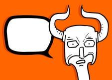 Viking talkative Royalty Free Stock Image