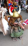 viking troll Stock Photo