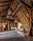 Viking ugoda przy L ` Anse aux łąki obraz royalty free