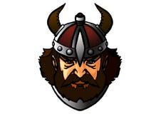 Viking utseendet av den hårda nordliga krigaren, tjänare av kriget vektor illustrationer