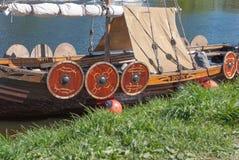 Viking Viking versenden Replik in St Petersburg, Russland lizenzfreie stockfotografie