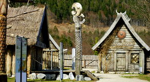Viking Village Royalty Free Stock Photos