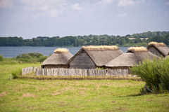 Viking Village Royalty Free Stock Photography
