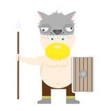 Viking warrior Royalty Free Stock Images