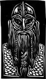 Viking Warrior Fotografia Stock Libera da Diritti