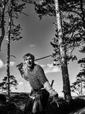 Viking Warrior Photo stock