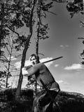 Viking Warrior Images libres de droits