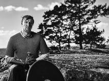 Viking Warrior Images stock