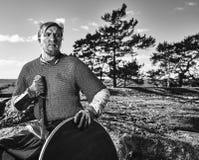Viking Warrior Photo libre de droits