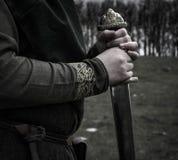 Viking Warrior fotografia de stock