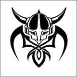 Viking Warrior Emblem Image libre de droits