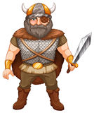 Viking warrior Stock Photography
