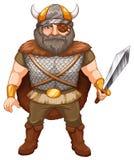 Viking warrior Stock Photography